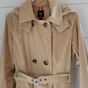 Gap Trench Coat hooded